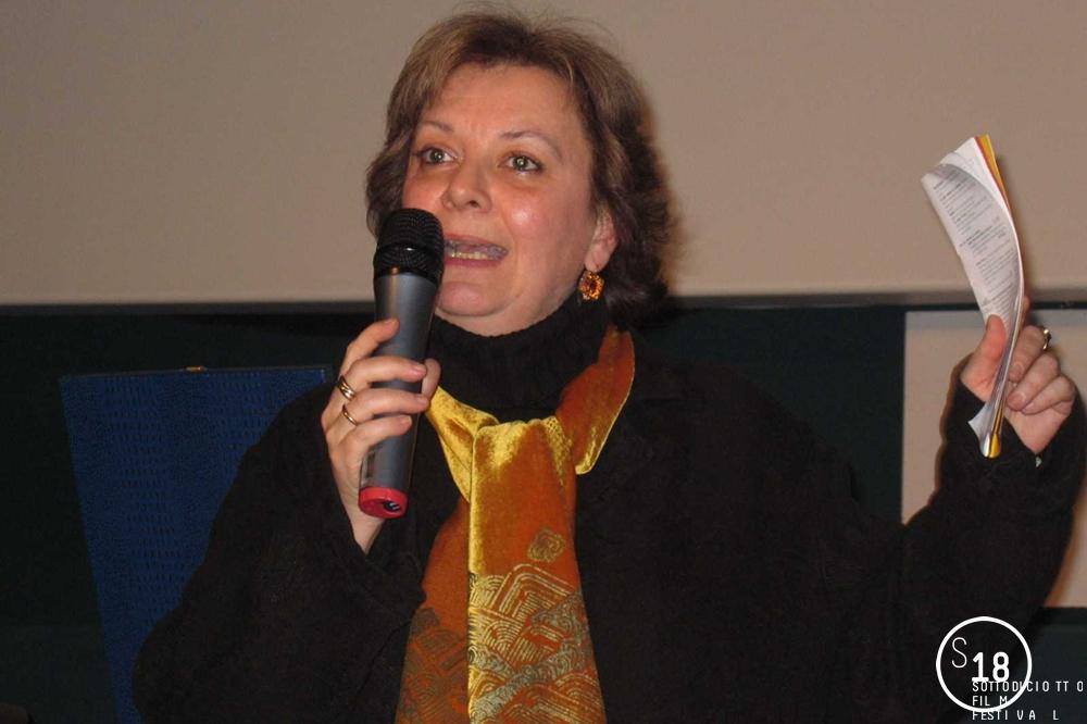Momento della Cerimonia di Premiazione, presentazione a cura della Direttrice del Festival