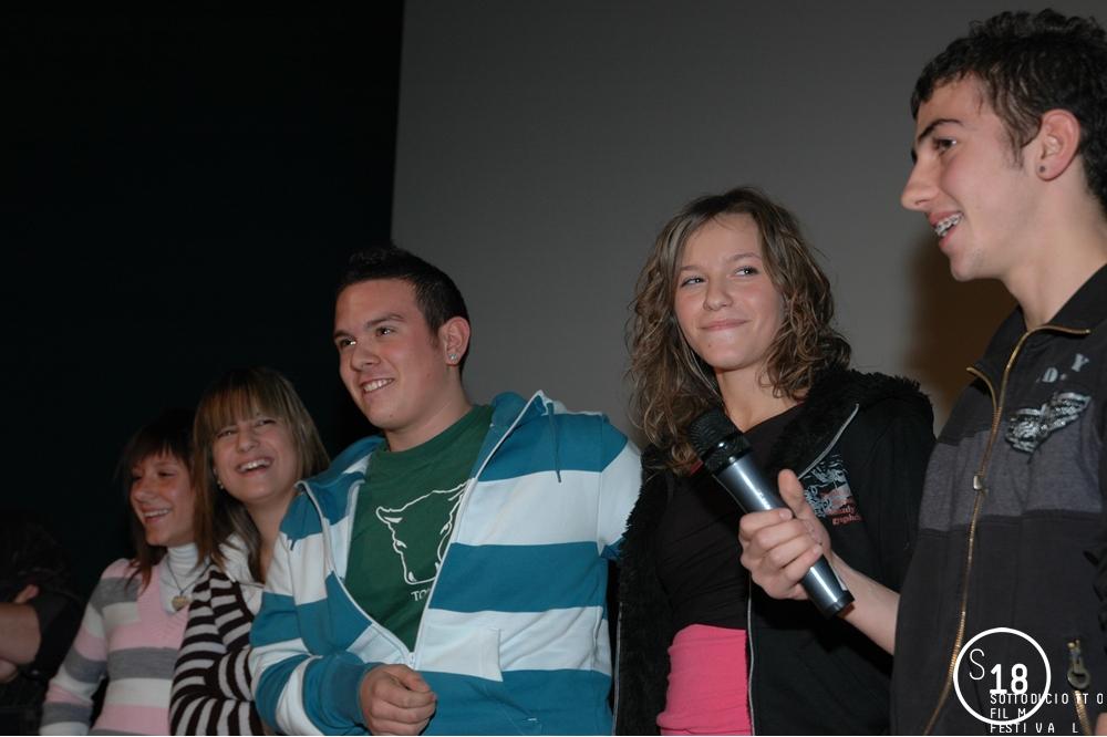Cinema Massimo, discussione in sala al termine delle proiezioni  del Concorso Scuola