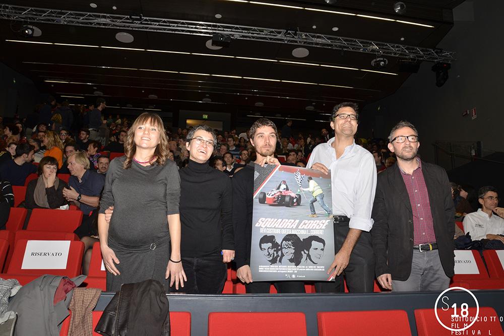 Inaugurazione del Festival con la Squadra Corse Torino, 5 Dicembre 2014