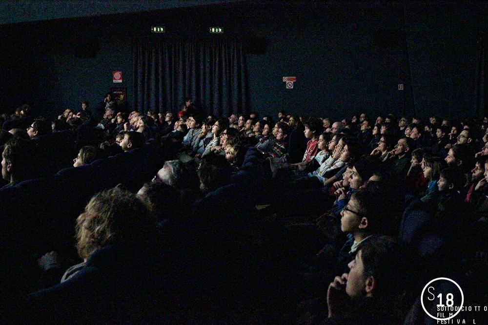 Cinema Massimo, presentazione di Yellowbird, pubblico in sala