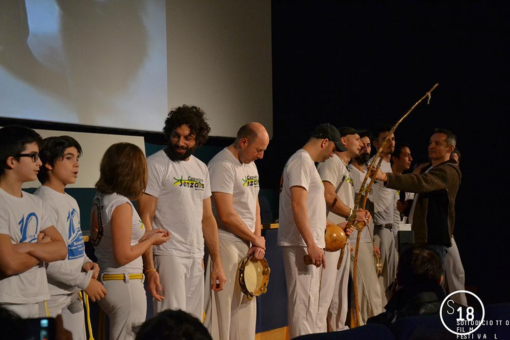 Cinema Massimo, presentazione di O Menino e o Mundo, ospite il gruppo Senzala di Capoeira