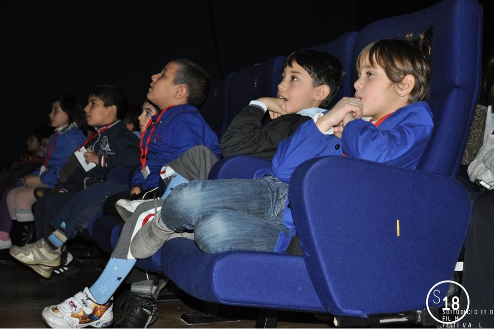 Cinema Massimo, pubblico in sala durante proiezioni Concorso Scuole